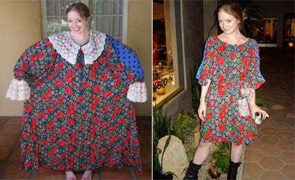 Upcycle clothes old colorful dress creative easy diy
