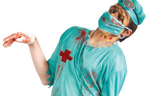 easy,adult,halloween,costumes,zombie,doctor,creative,diy,