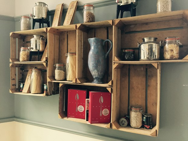 repurposed wooden crates home improvement diy indoor decoration ideas
