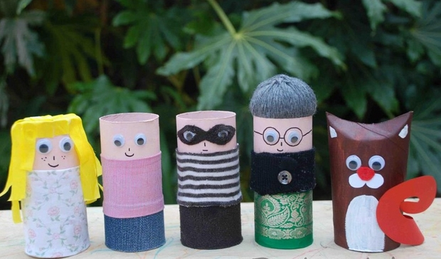 11 toilet paper roll thanksgiving crafts ideas for kids for Creative craft ideas with paper