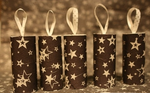 christmas crafts for kids reuse toilet paper rolls easy made tree decorating ornaments ideas