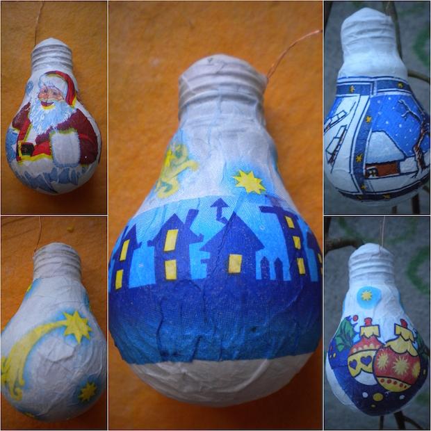 Christmas Decorating Ideas 21 Ways To Reuse Old Light Bulbs