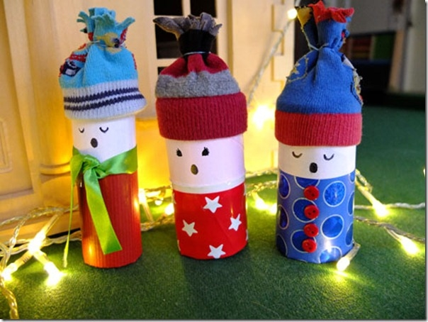 kids crafts for christmas easy diy toilet paper rolls singers home decoration ideas