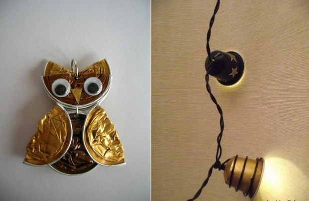 Recycling Nespresso Capsules Into Diy Home Decoration Creative Owl Ideas
