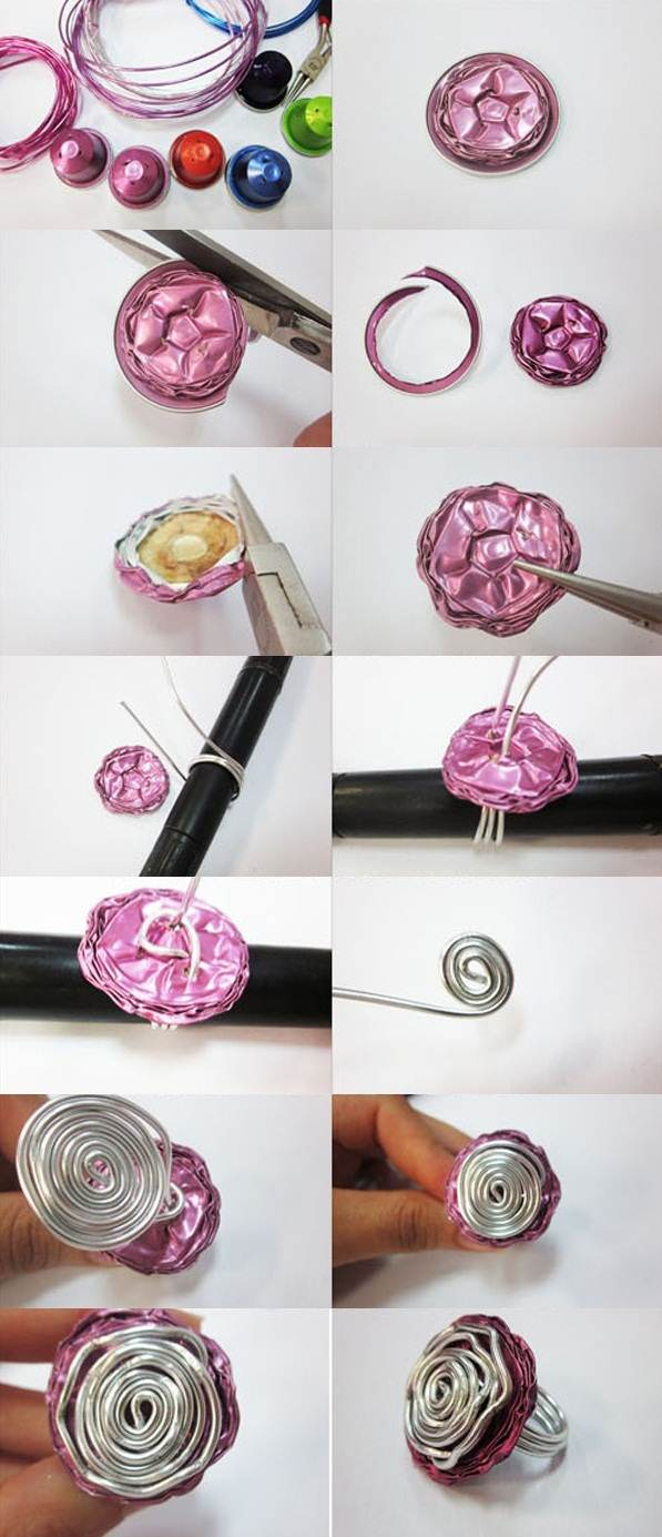 How To Make A Wire Ring Yourself