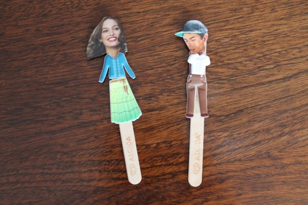 Art People Crafts Made Of Reused Ice Cream Popsicle Sticks Decor Ideas