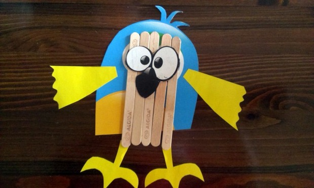 Ice Cream Stick Crafts For Kindergarten