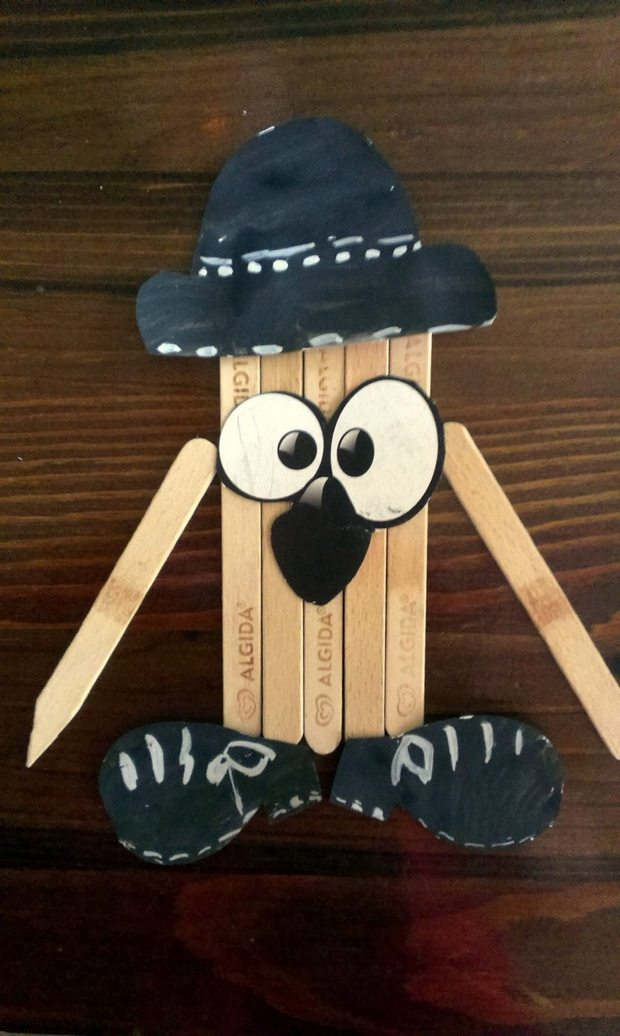 Popsicle Sticks Kids Crafts Creative Decoration Ideas