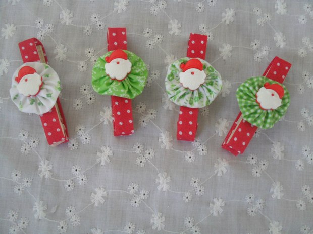 repurposed old clothespins creative christmas tree decoration snowman