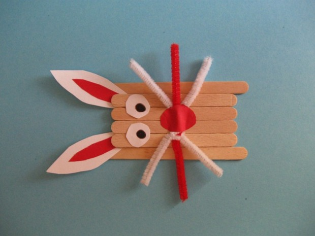 Upcycling Old Popsicle Sticks Crafts Into Animal Shaped Decoration For Kids