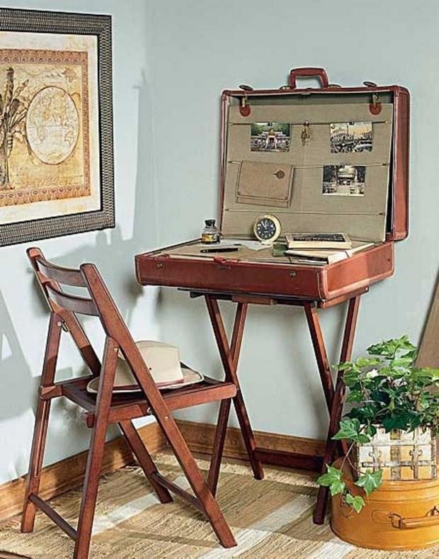 Reuse Old Suitcases - 17 Furniture Ideas for Home Decoration