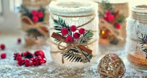 glass-jar-christmas-diy-crafts-cranberries-cinnamon-upcycled-creative-decoration-ideas