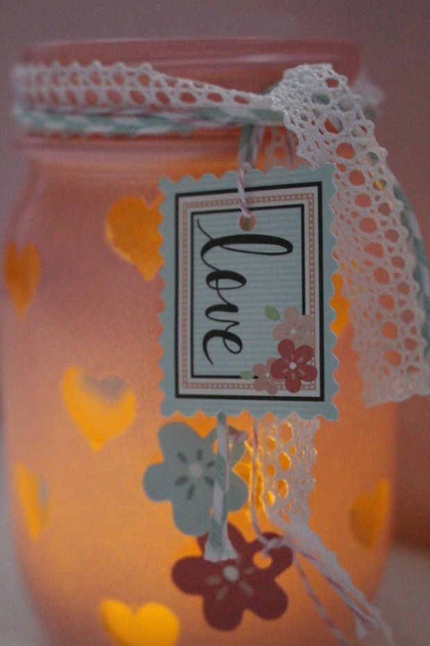 Valentines Day Crafts 12 Glass Jar Decorations And Gifts