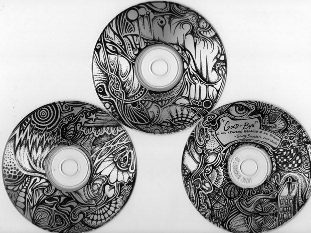 cd craft art drawing quotes creative stunning reuse old discs