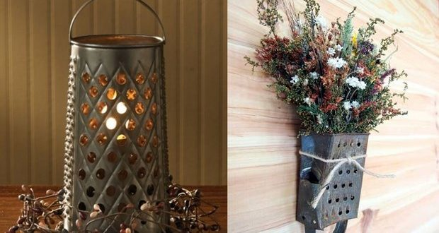 Upcycle cheese grater - 11 of the best DIY ideas ever