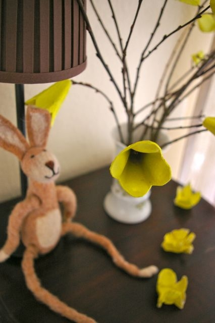 Easter egg carton craft ideas tree egg reuse ideas crative ways diy upcycled flower