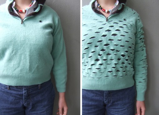 Upcycle clothes old sweater creative easy ideas reuse