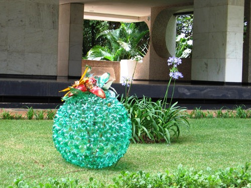 reuse garden creative ideas diy old colorful plastic bottles
