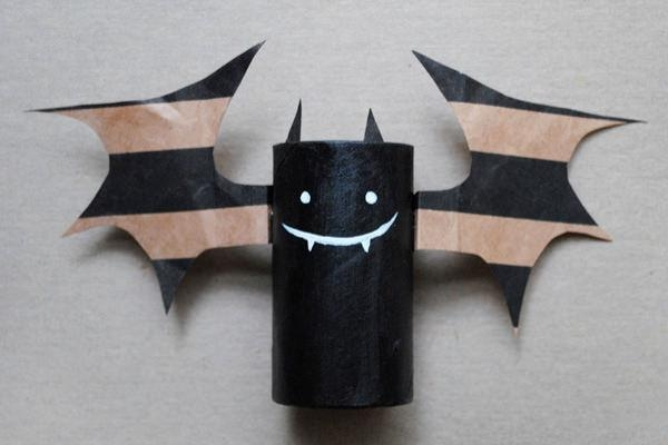Halloween Crafts From Toilet Paper Rolls
