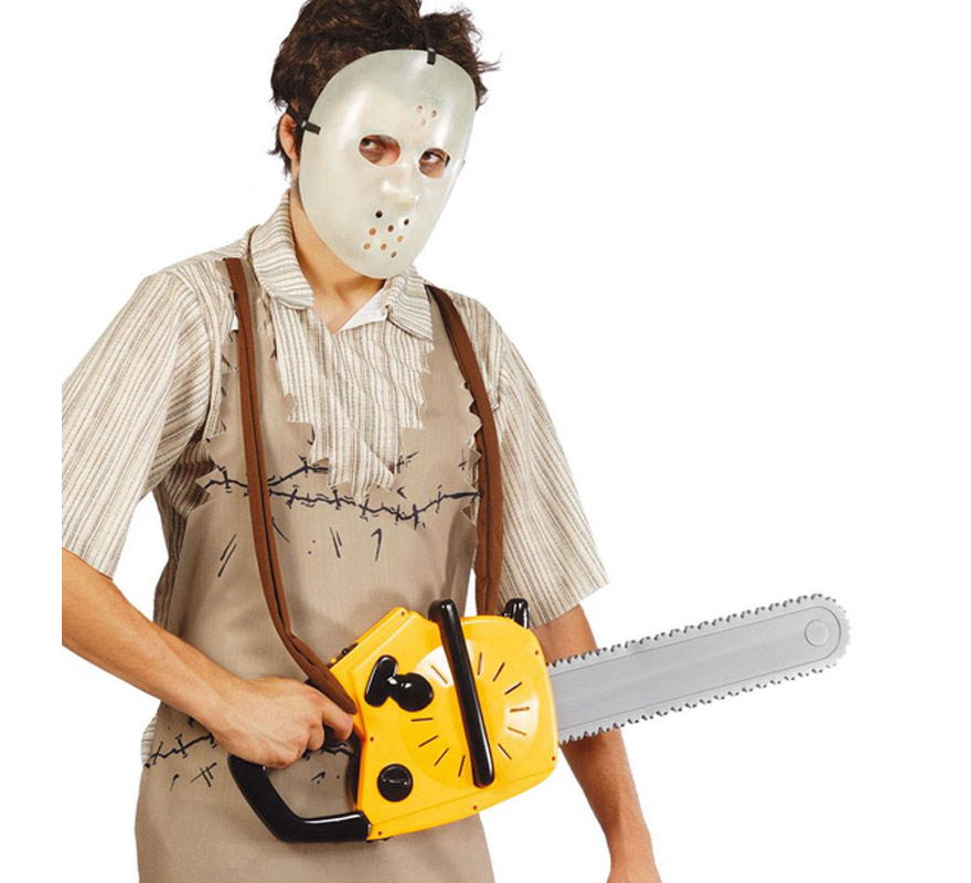 chainsaw diy mask easy homemade halloween costume for party