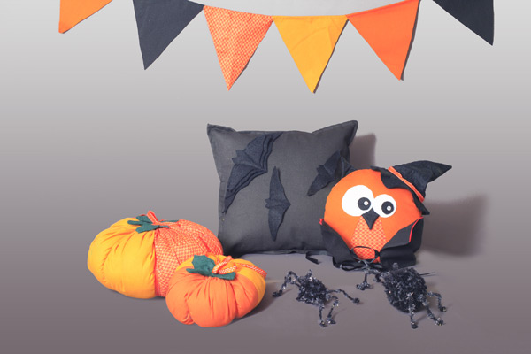craft ideas for halloween pillows indoor decoration funny cushion reused throw pillows