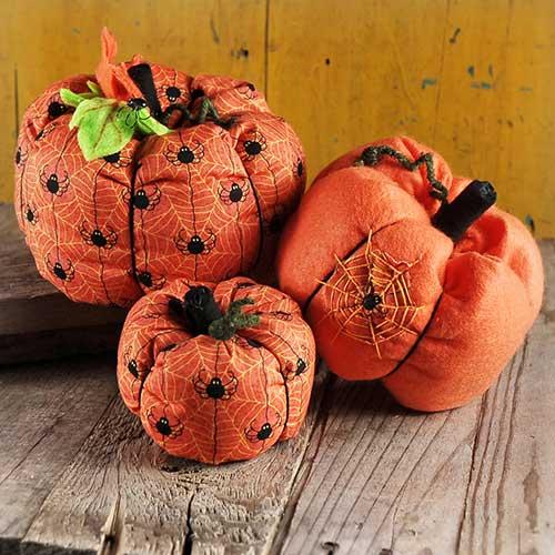 craft ideas for halloween pillows spider net diy indoor decoration