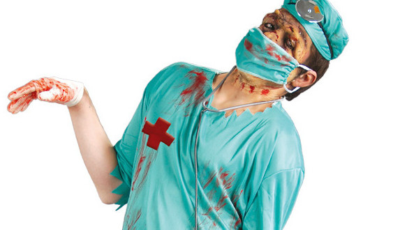 easy-adult-halloween-costumes-zombie-doctor-creative-diy-  sc 1 st  Upcycled Wonders : easy adult costume ideas  - Germanpascual.Com