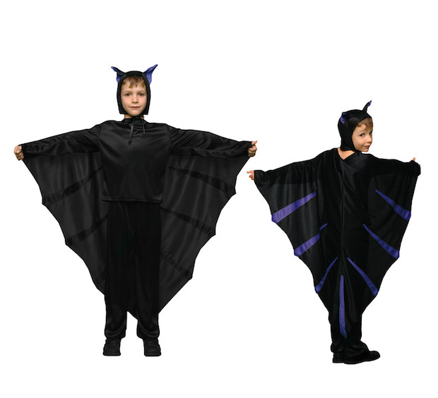 halloween spirit good bat idea for kids black upcycled curtains costume for halloween