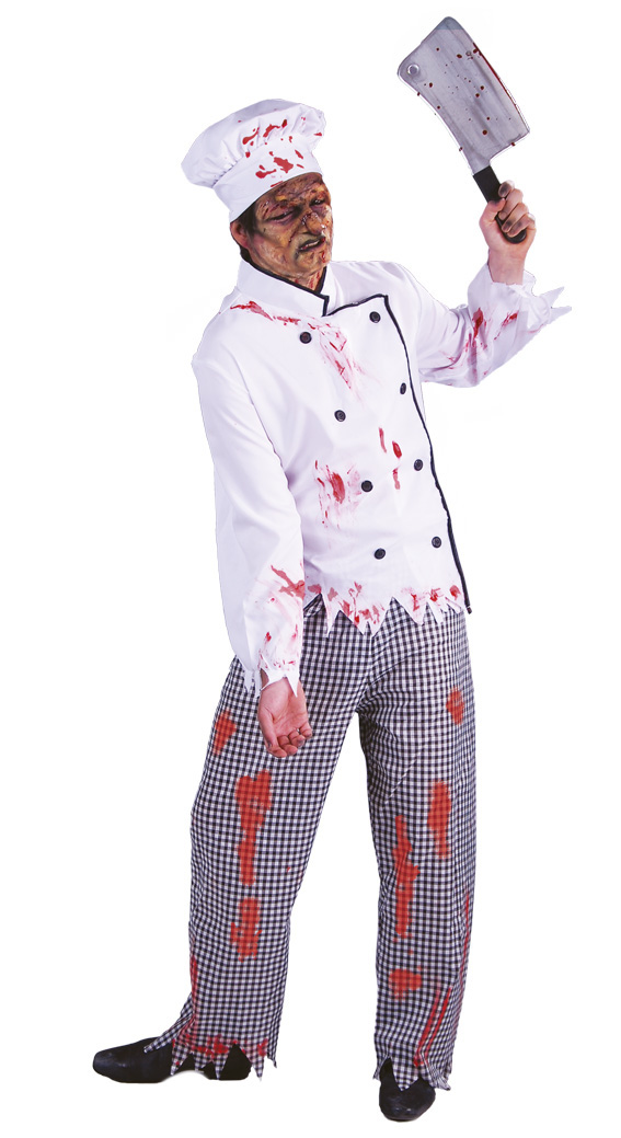 unique halloween costumes for party creepy redesign chef costume chopper diy ideas