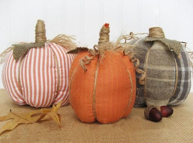 homemade vintage pinterest halloween decorative throw pillow burlap diy party craft decor ideas