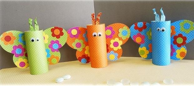 kids crafts for thanksgiving reuse toilet papper rolls decor ideas