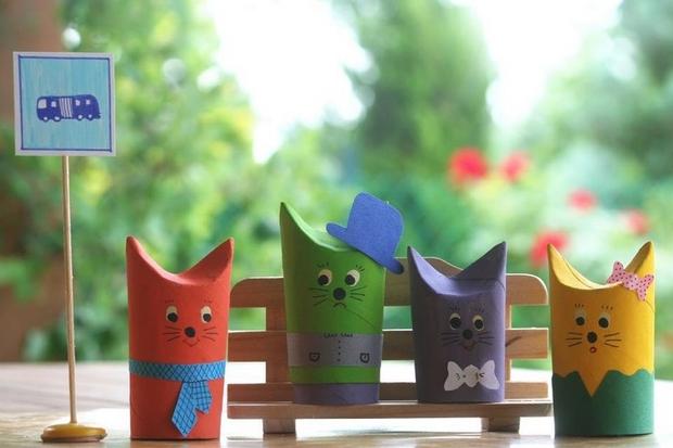 thanksgiving crafts ideas diy kids reused toilet paper rolls ideas