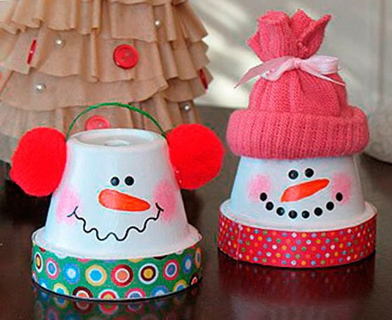 christmas kids crafts homemade tree ornaments from plastic cups decor ideas