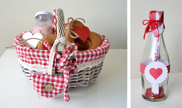 diy valentines day gift ideas for your loved ones romantic basket jar of jam heart decoration glass bottle homemade upcycling valentines ideas