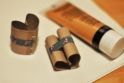 reused toilet paper tubes love heart valentine's day craft for kids handmade ideas