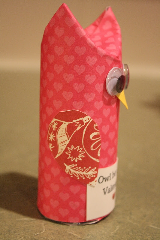 valentine's day crafts for kids easy to make owl from reused toilet paper roll creative idea