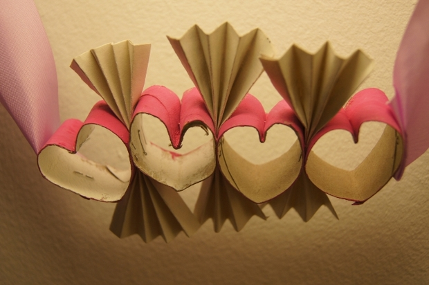 valentine's day crafts for kids love hearts from reused toilet paper tubes decorating ideas