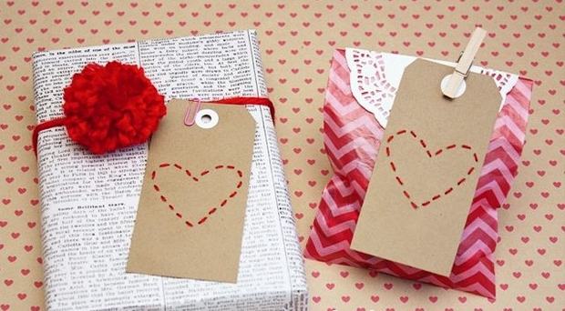 valentines day wrapping paper ideas for gift box diy decoration