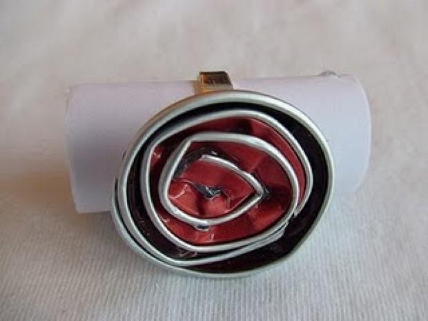 recycling nespresso capsules into handmade diy ring