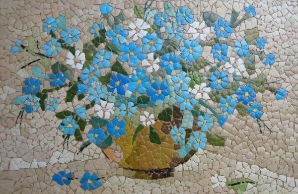 reuse egg shells art mosaic painting for after easter decor