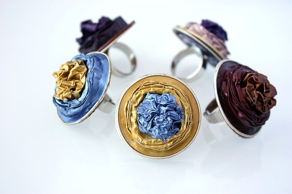 upcycling nespresso capsules into diy ring creative idea