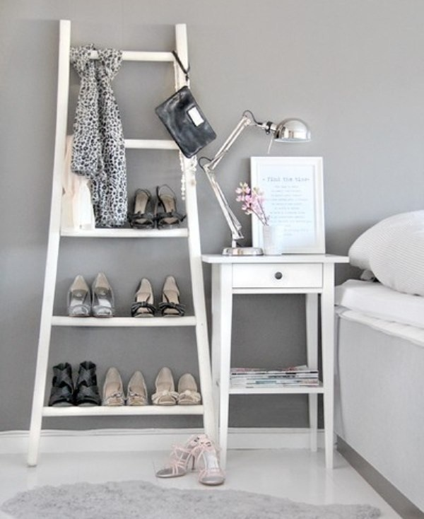Upcycled Ladder Shelves And Creative Display Ideas