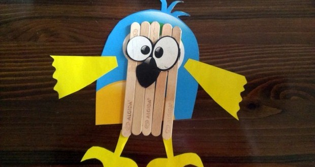 Popsicle Sticks Crafts For Kids
