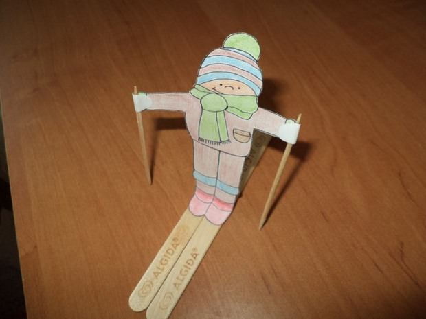 diy popsicle sticks crafts snowman kids project ideas