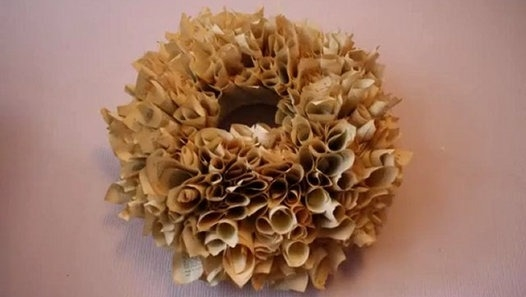 book page rosette pomander christmas ornaments old diy paper ball upcycling ideas
