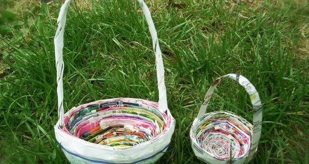 Easter egg decorating ideas using recycled materials for Recycled products ideas