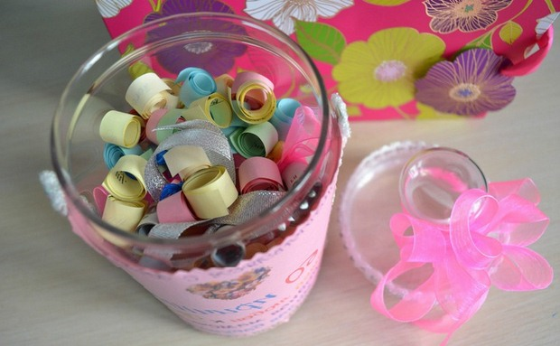 valentine's day gift for him reused plastic jar reasons to love you project