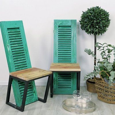 window chair furniture. Repurposed Old Wooden Doors Green Painted Window Chairs Amazing Diy  Project Chair Furniture I