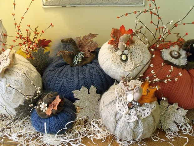 How To Make A Stuffed Fabric Pumpkin Out Of Scraps 19 Ideas