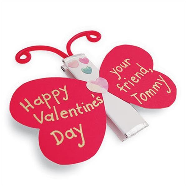 valentine crafts chewing gum ladybird shaped love kids gift
